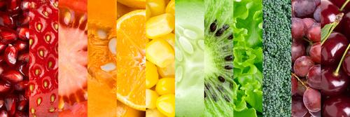 Фрукты, овощи, ягоды содержат пектин