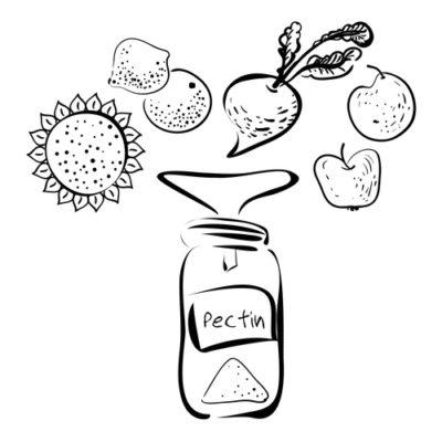 Продукты с высоким содержанием пектинов